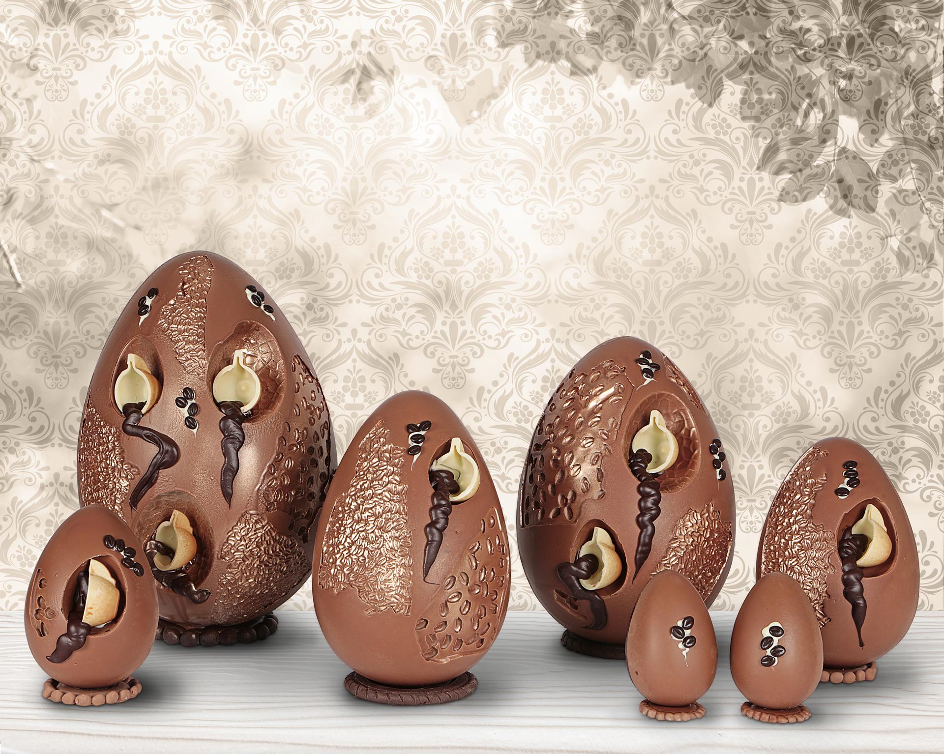 Collezione 2018 uovo di cioccolato caff gli speziali di - Uova di pasqua in casa ...
